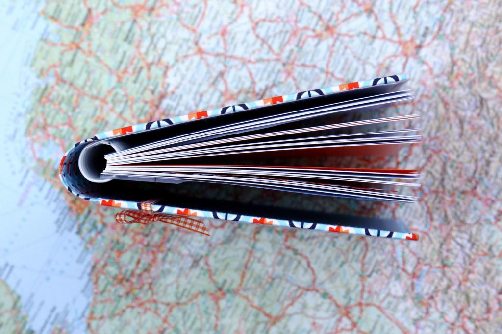 Reisetagebuch von oben