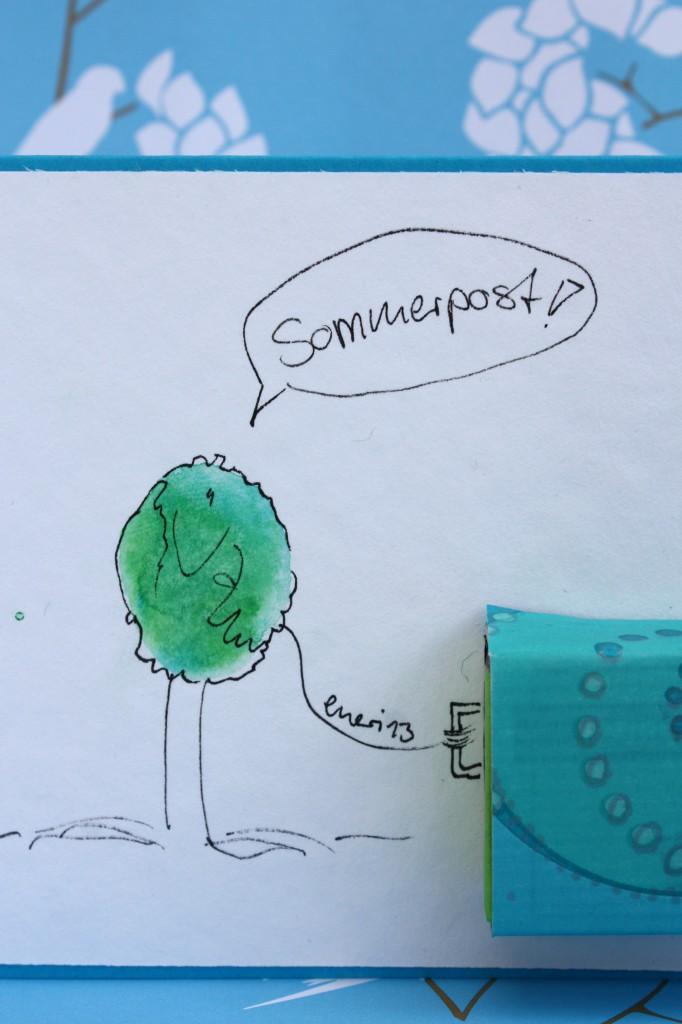 Sommerpost von scribbeling-of-enerim
